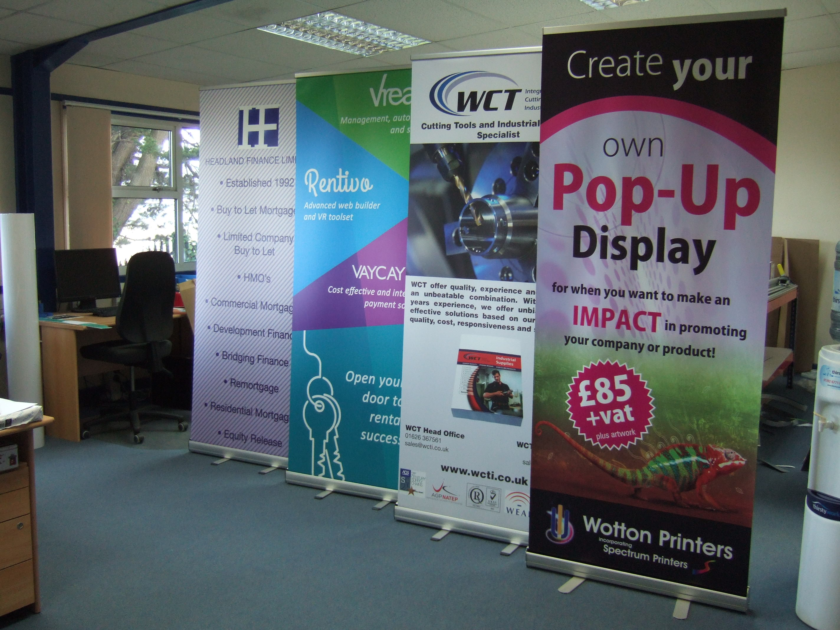 Exhibition Stand Options : Exhibition stands wotton printers