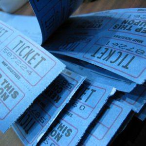 Printed Raffle Tickets