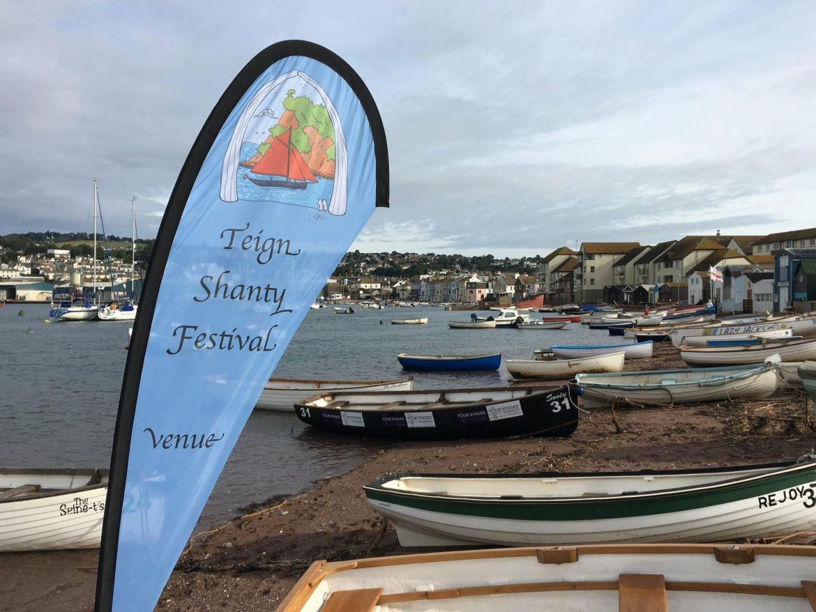 Supporting the Teign Shanty Festival